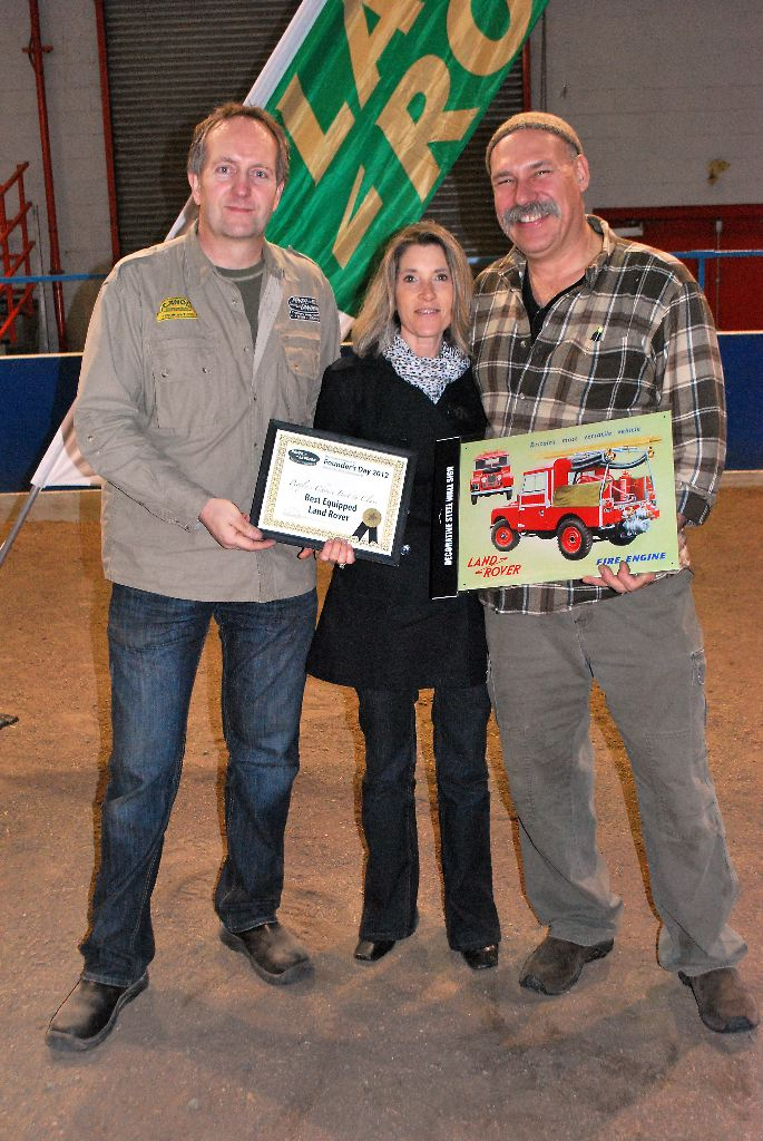 Best Equipped Land Rover - Bernie & April Buttner, Port Coquitlam - 1984 Defender 110